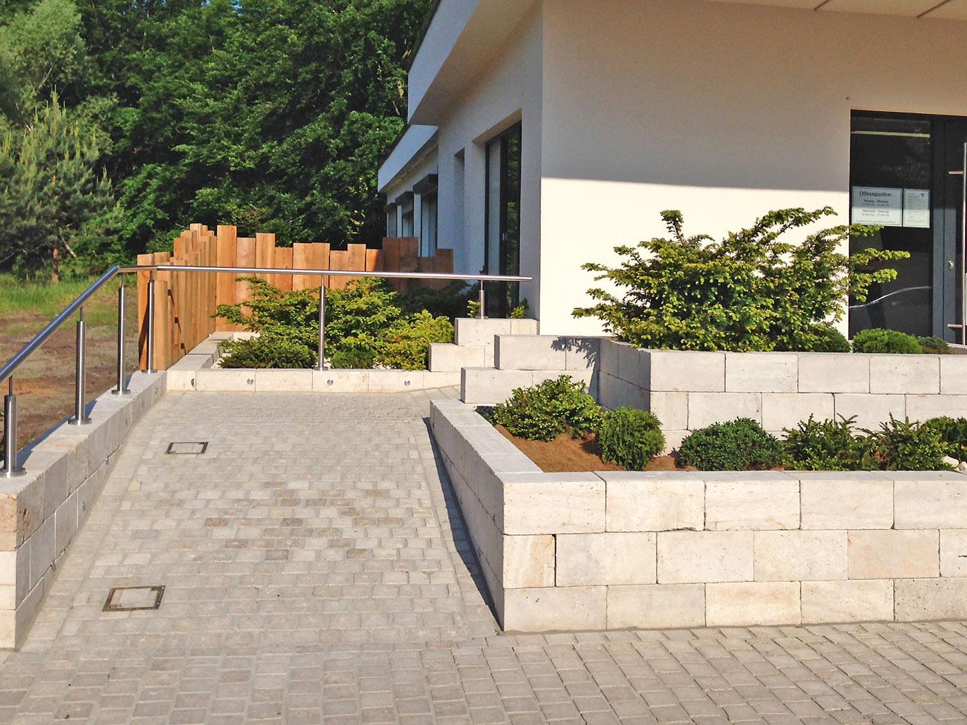 gartenmauern gartenmauer rostock