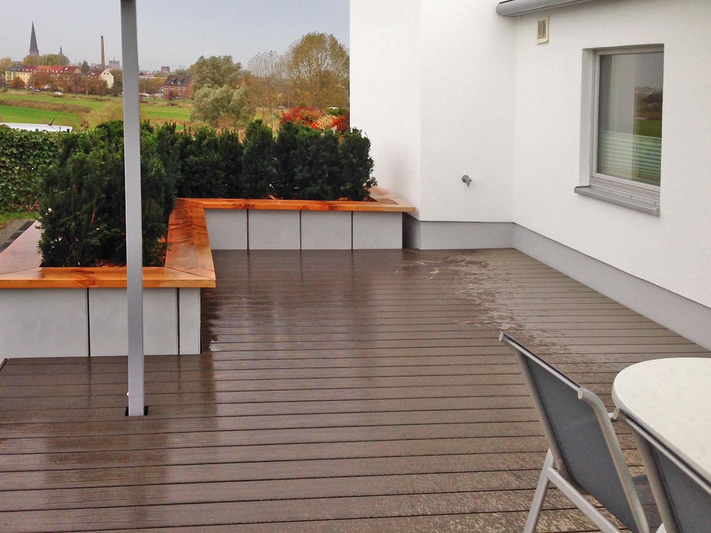 Outdoorküche Klein Cafe : Terrasse terrassenbau rostock